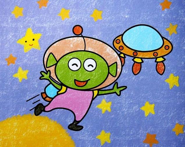 >> 文章内容 >> 外星人绘画图片大全  幼儿园大班绘画我是外星人答