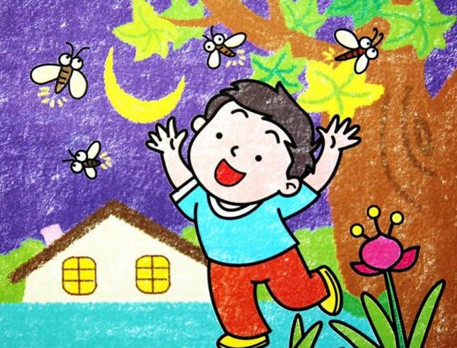 儿童彩色画简笔画大全