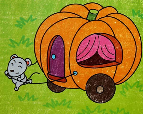 老鼠-蜡笔画图集图片_儿童蜡笔画_少儿图库_中国儿童